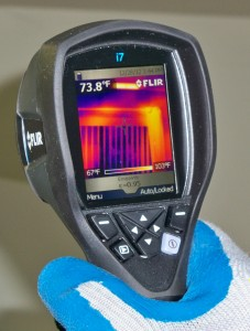 Home Inspection with Infrared Scan